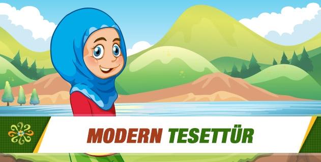 Modern tesettür (!)