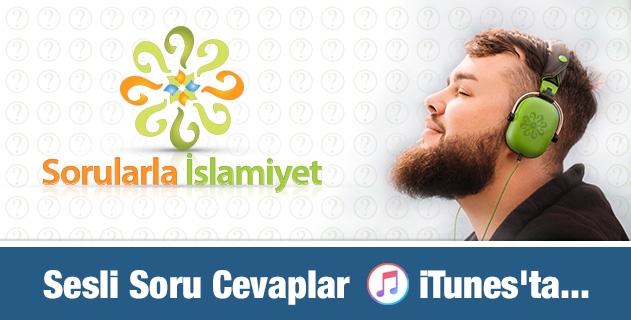 Sesli Soru Cevaplar iTunes'ta...