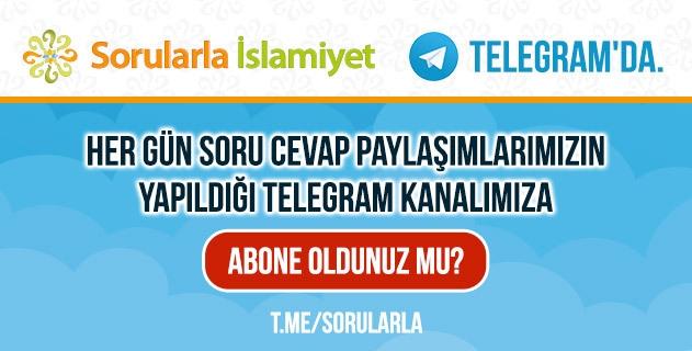 Sorularla İslamiyet Telegram'da...