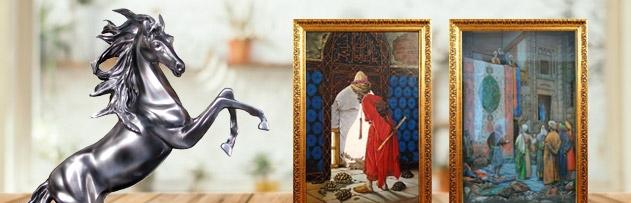 Heykel ve resim bulundurmak caiz mi? Heykel ve resim bulunan evde namaz caiz olur mu?