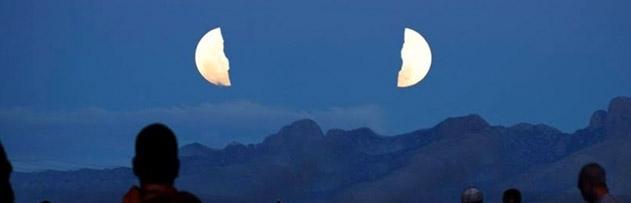 Ay'ın yarılma mucizesi neden sadece o zamanda görülmüştür?