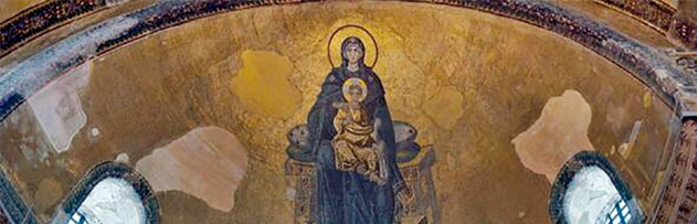 İçindeki mozaikler Ayasofya'da namaz kılmaya mani olur mu?