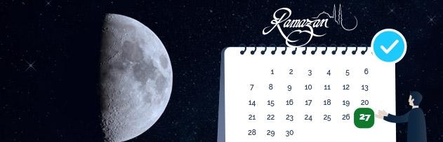 Kadir gecesinin alameti var mı, ramazanın ilk gününe göre değişir mi?